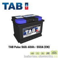 Batería TAB S60 60Ah 550A