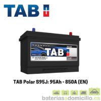 Batería coche TAB S95J 95Ah 850A