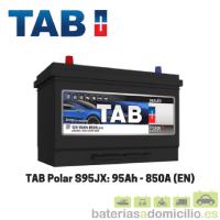 Batería coche 95Ah TAB S95Jx 850A