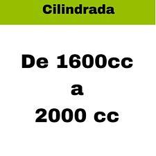 Bateria coches europeos gasolina de 1600cc a 2000cc