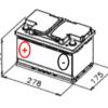 Esquema batería VARTA E12
