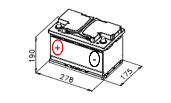 varta e12 74ah 680a blue dynamic bater as a domicilio. Black Bedroom Furniture Sets. Home Design Ideas
