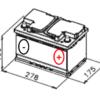 Esquema bateria Varta E11 12V 74Ah