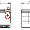 Esquema Batería Varta E23