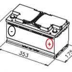 Esquema batería VARTA F17