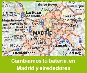 Baterias Madrid