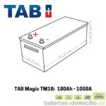 Medidas Batería de camión 180Ah TAB
