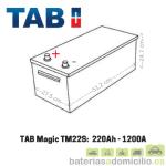 Medidas Batería Camión 220Ah TAB TM220