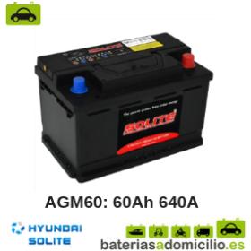 Batería de Coche Hyundai AGM60