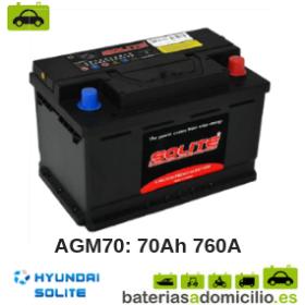 Bateria de Coche Hyundai AGM70