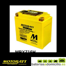 Motobatt MBTZ16H